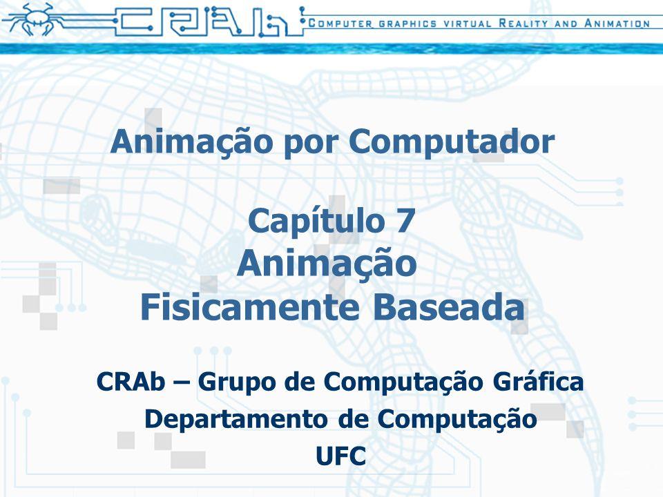 Animação por Computador Capítulo 7 Animação Fisicamente Baseada CRAb – Grupo de Computação Gráfica Departamento de Computação UFC