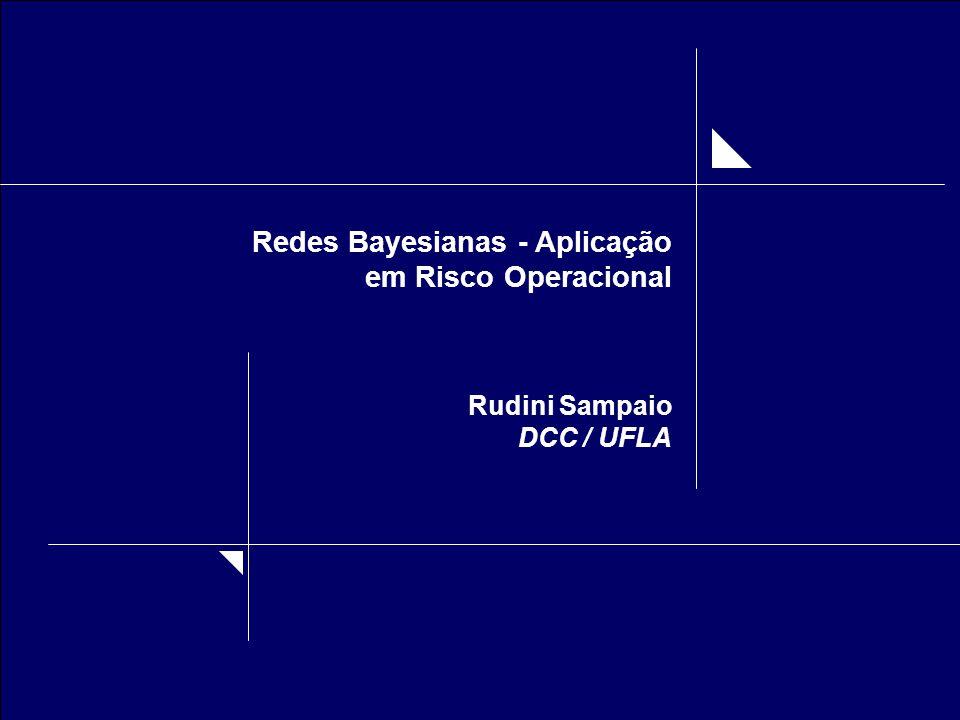 Redes Bayesianas - Aplicação em Risco Operacional Rudini Sampaio DCC / UFLA