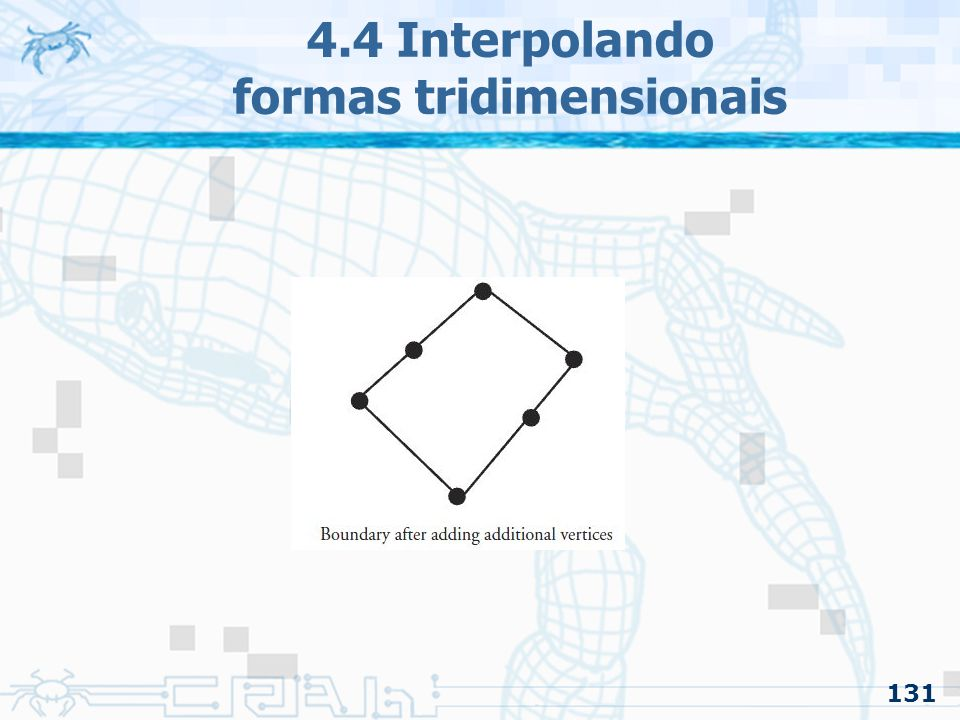 131 4.4 Interpolando formas tridimensionais