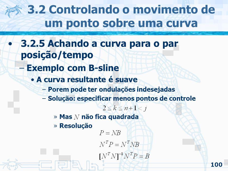 101 3.3 Interpolação de orientações