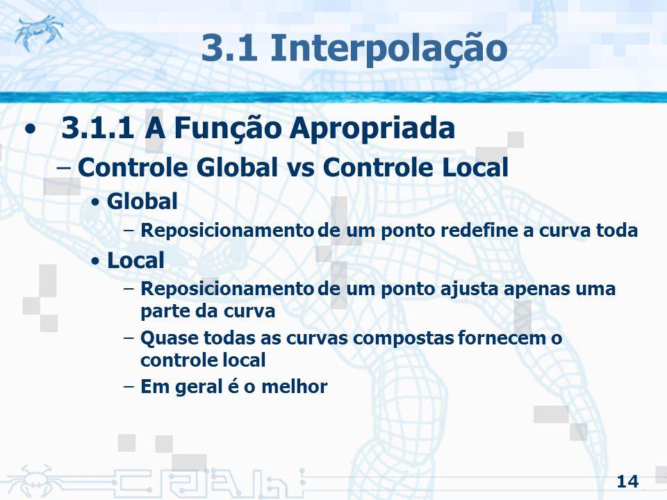 15 3.1 Interpolação