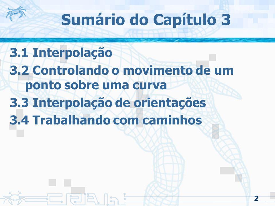 3.1 Interpolação