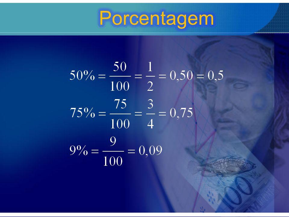 Porcentagem de uma quantia Calcular: a) 8% de 450; b) 45% de 60; c) 80% de quanto dá 28.