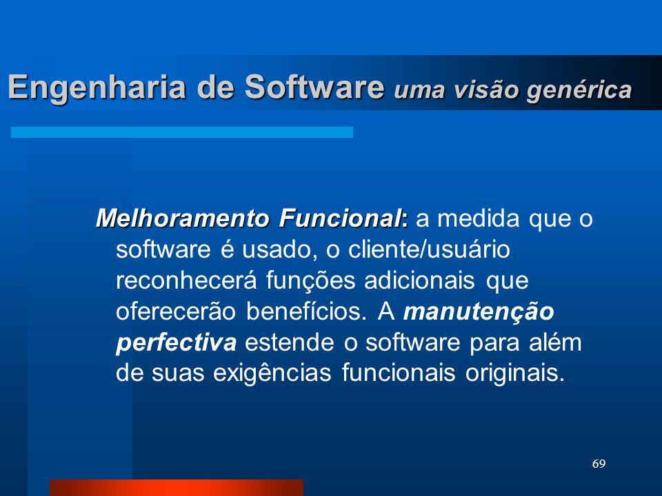 68 Engenharia de Software uma visão genérica Correção: Correção: mesmo com as melhores atividades de garantia de qualidade de software, é provável que