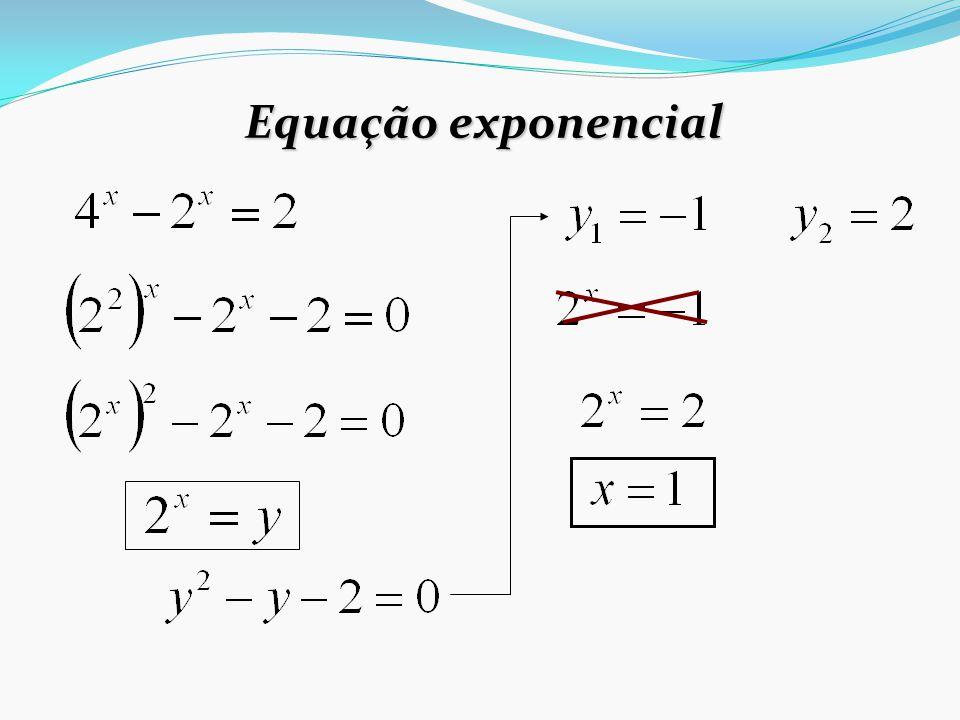 Inequação exponencial