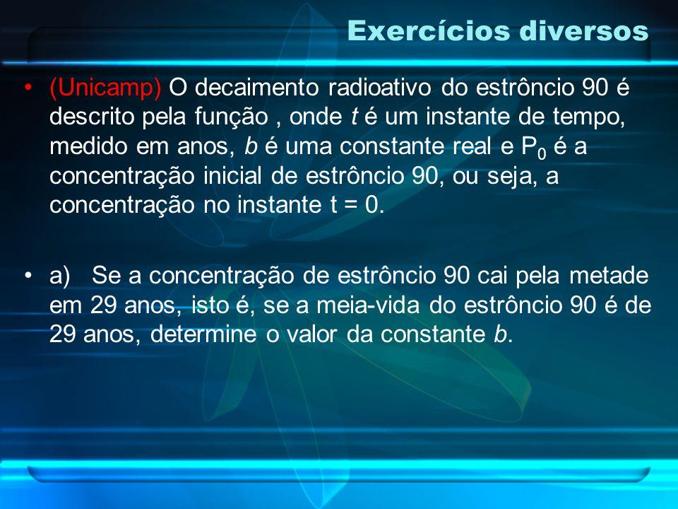 Tempo necessário para que a atividade radioativa de uma amostra seja reduzida à metade da atividade inicial.
