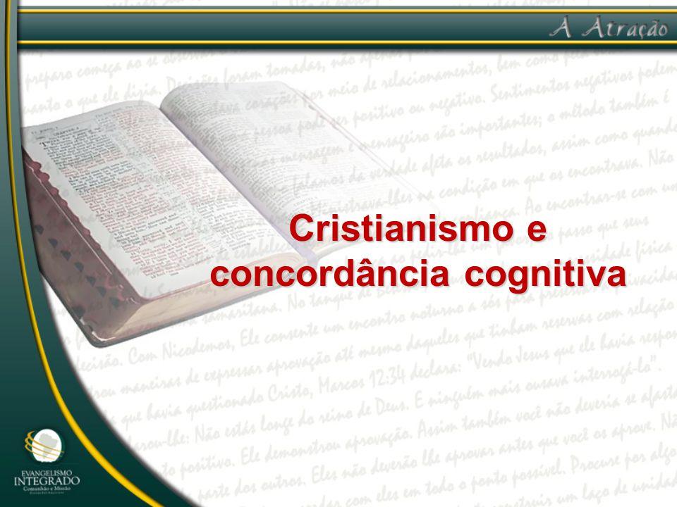 Três passos na concordância cognitiva: 1.desenvolver um profundo amor por Jesus no coração daqueles com quem está estudando,
