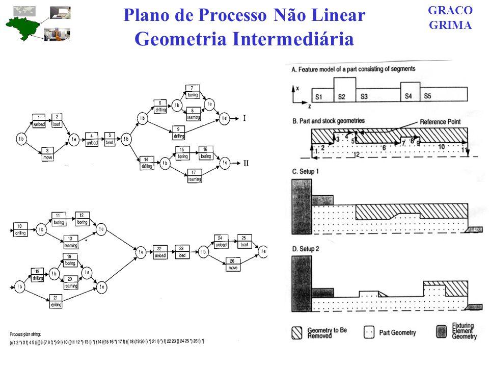 Plano de Processo Não Linear Geometria Intermediária GRACO GRIMA