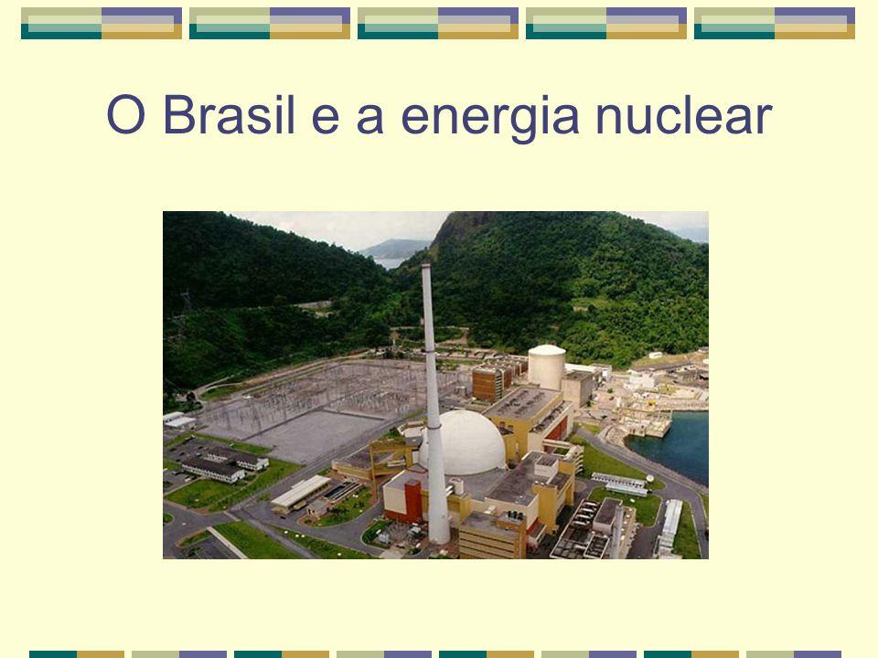 O Brasil e a energia nuclear