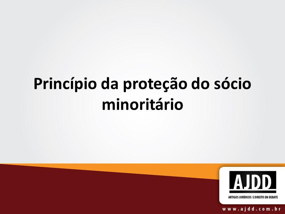 Princípio da proteção do sócio minoritário