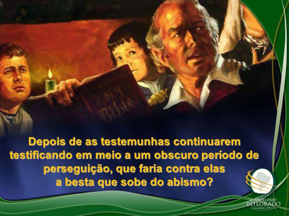 Porém, o testemunho bíblico não só ressuscitaria, mas se elevaria e sua fama subiria ao Céu.