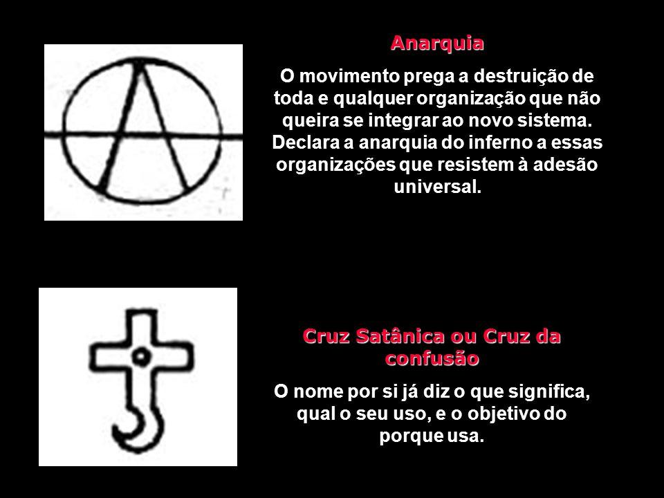 Cruz de Nero É uma cruz de cabeça para baixo, braços quebrados e caídos. Simboliza a