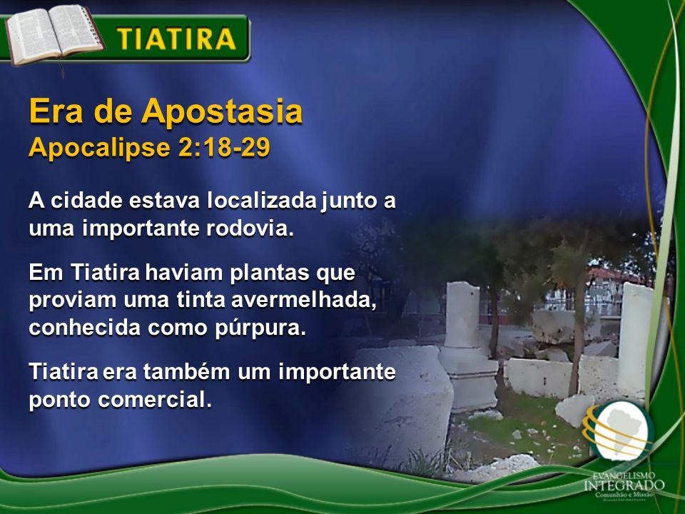 A cidade estava localizada junto a uma importante rodovia. Em Tiatira haviam plantas que proviam uma tinta avermelhada, conhecida como púrpura. Tiatir