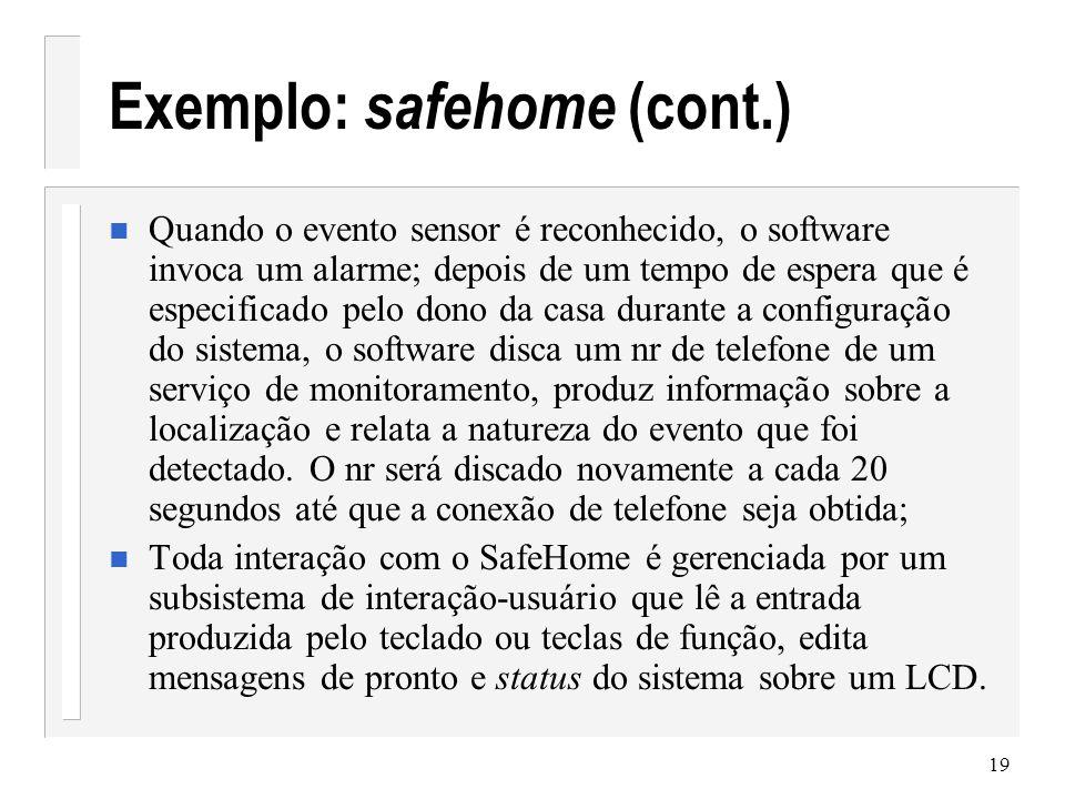 20 Safehome (painel de controle)