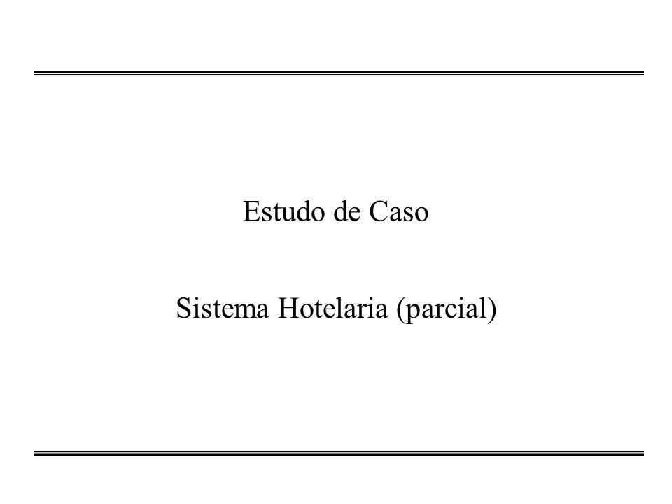 Estudo de Caso Sistema Hotelaria (parcial)