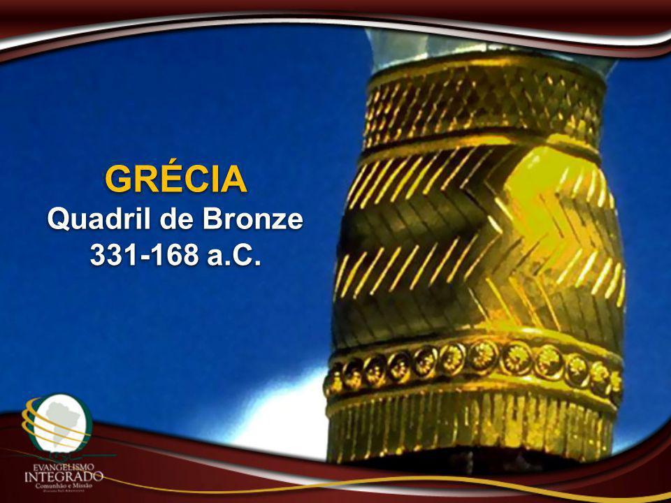 GRÉCIA Quadril de Bronze 331-168 a.C. GRÉCIA Quadril de Bronze 331-168 a.C.