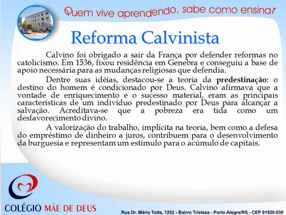 Doutrina da Predestinação: somente os indivíduos escolhidos por Deus serão salvos.