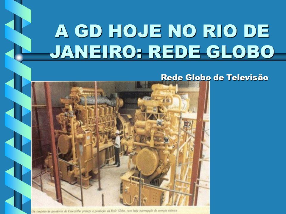 COGEN RIO / NORTE SHOPPING A GD HOJE NO RIO DE JANEIRO: REDE GLOBO Rede Globo de Televisão