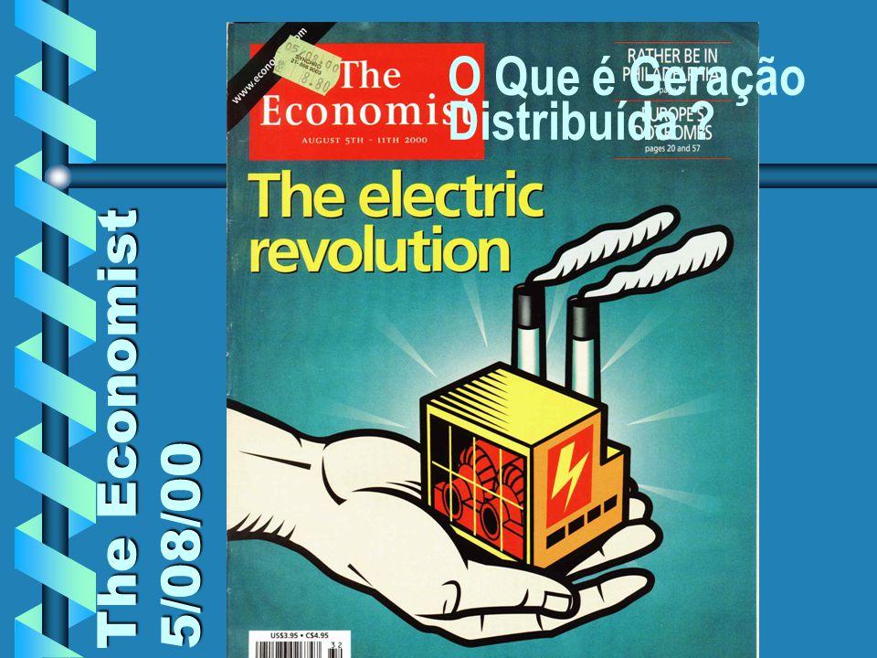 COGEN RIO / NORTE SHOPPING The Economist 5/08/00 O Que é Geração Distribuída ?