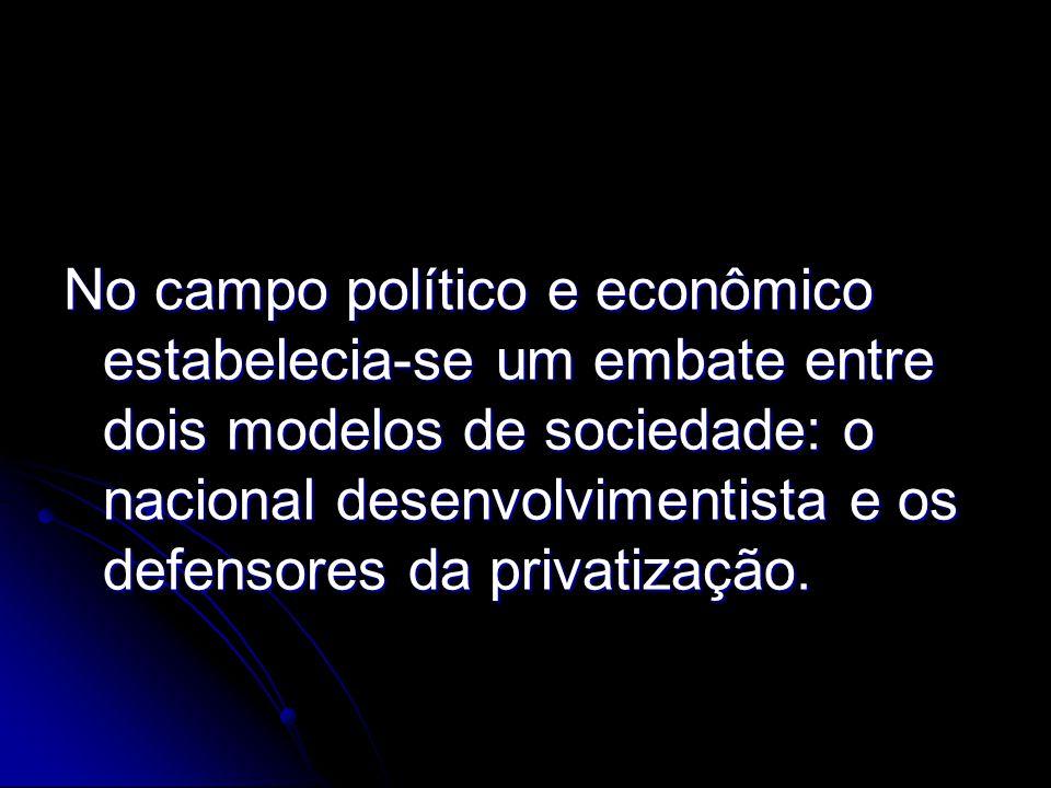Contexto Histórico da Educação Brasileira - 1953 Com a criação do Ministério da Saúde, o Ministério da Educação e Saúde Pública passa a se chamar Ministério da Educação e Cultura.