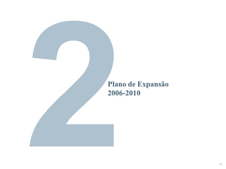 11 Plano de Expansão 2006-2010