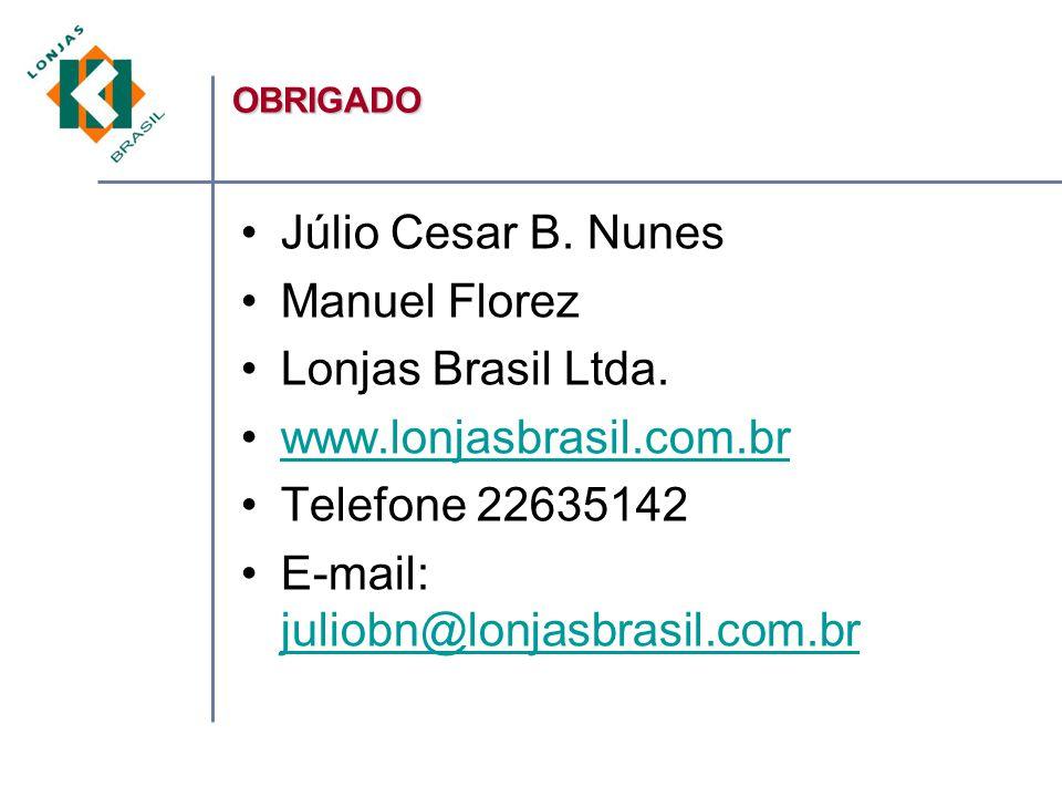 Júlio Cesar B.Nunes Manuel Florez Lonjas Brasil Ltda.