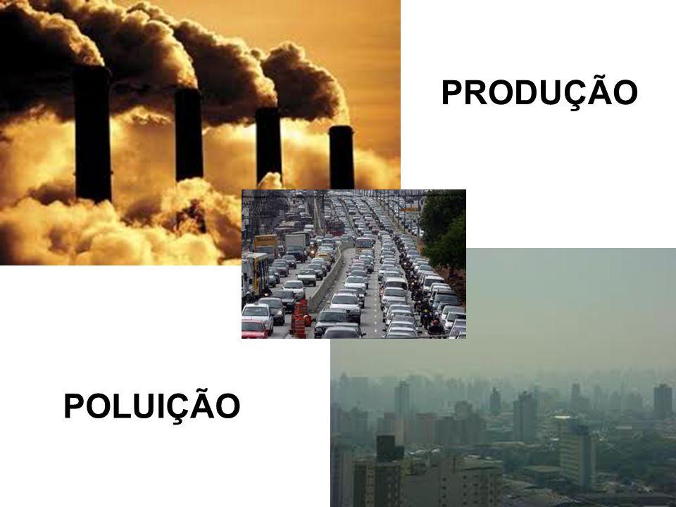 PRODUÇÃO POLUIÇÃO