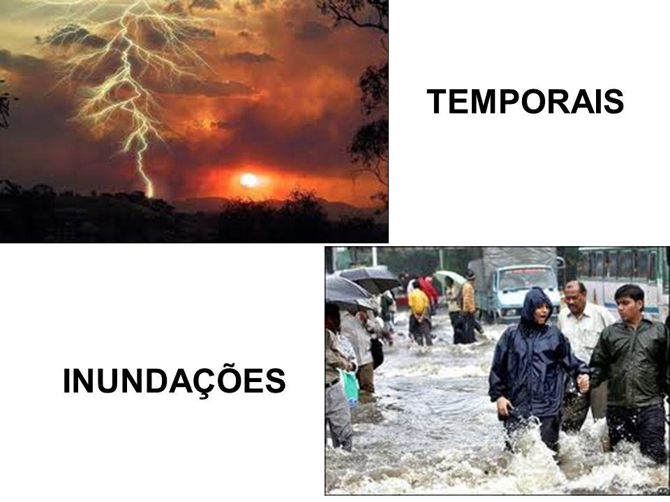 INUNDAÇÕES TEMPORAIS
