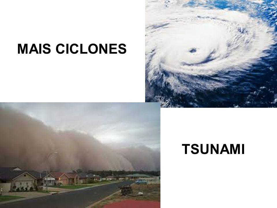 MAIS CICLONES TSUNAMI