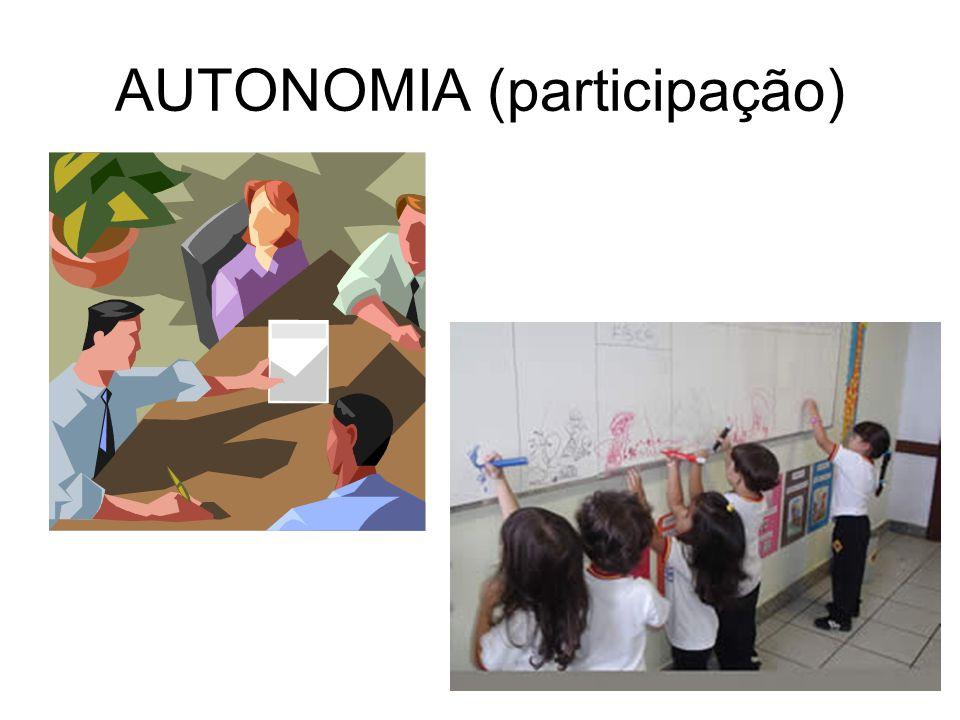 AUTONOMIA (participação)