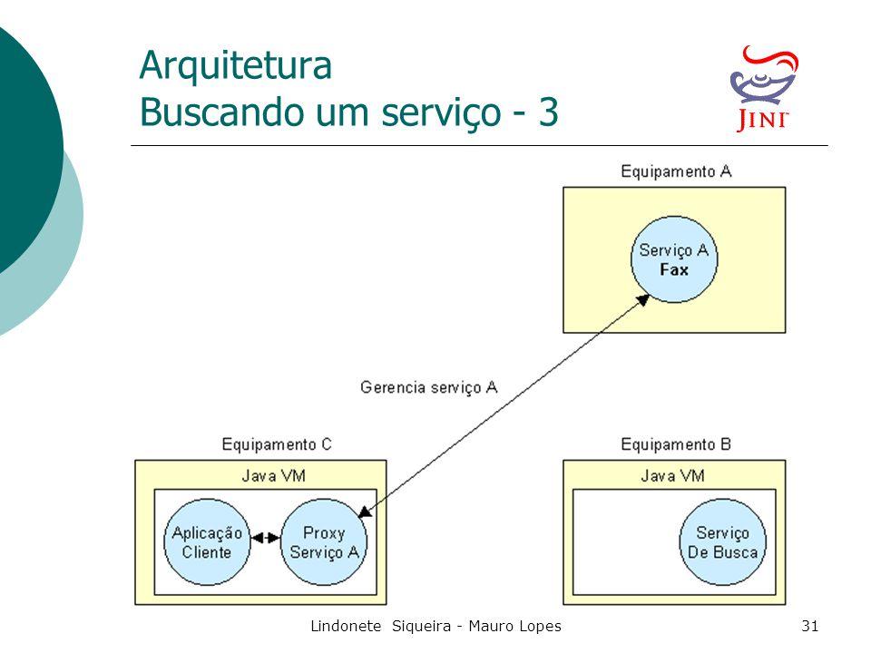 Lindonete Siqueira - Mauro Lopes31 Arquitetura Buscando um serviço - 3