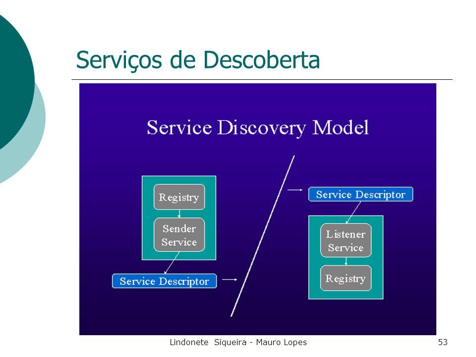 Lindonete Siqueira - Mauro Lopes53 Serviços de Descoberta