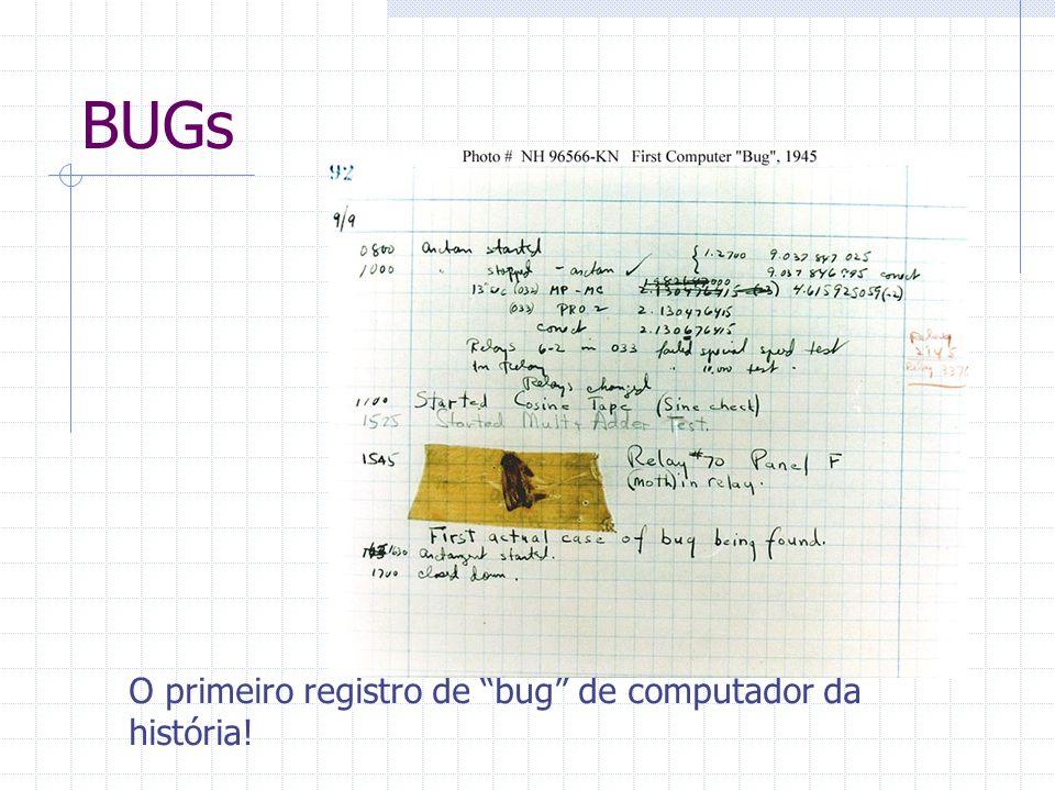 """BUGs O primeiro registro de """"bug"""" de computador da história!"""