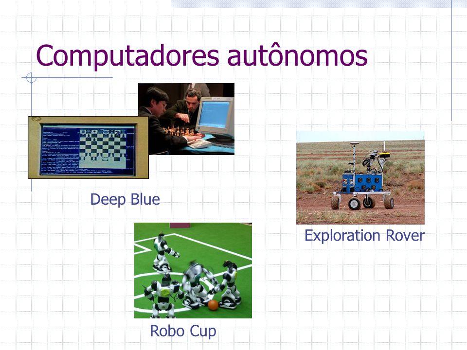 Computadores autônomos Deep Blue Robo Cup Exploration Rover