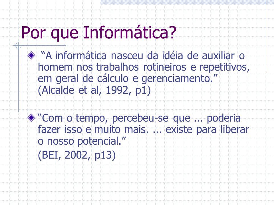 Tratamento de Informação Informação Números, textos, sons, imagens...