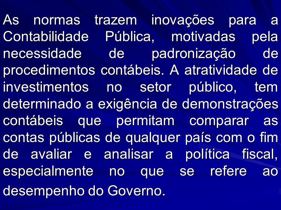 NORMAS BRASILEIRAS DE CONTABILIDADE APLICADAS AO SETOR PÚBLICO Resolução CFC n.