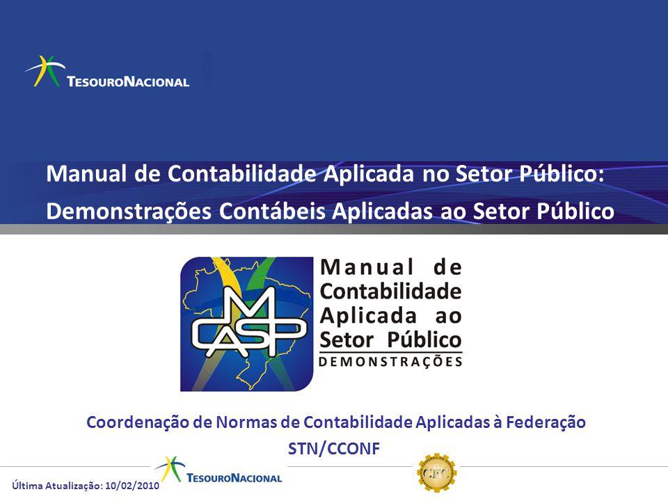 Manual de Contabilidade Aplicada no Setor Público: Demonstrações Contábeis Aplicadas ao Setor Público Coordenação de Normas de Contabilidade Aplicadas