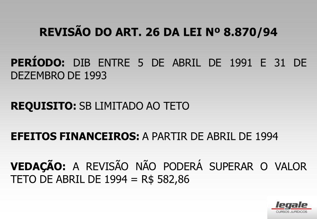 REVISÃO DO ART.
