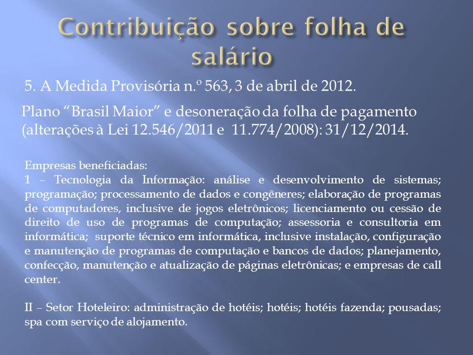 Lei 12.546/2011, art.7Lei 12.546/2011, art.