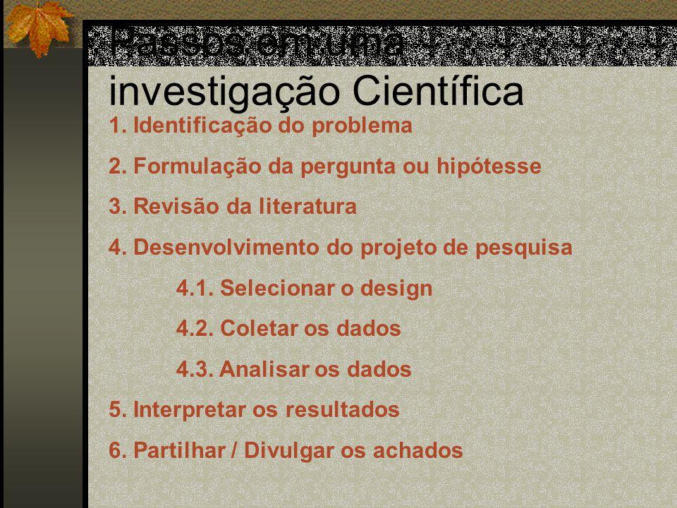 Definição do Problema e Revisão Bibliográfica I mariademello@uol.com.br