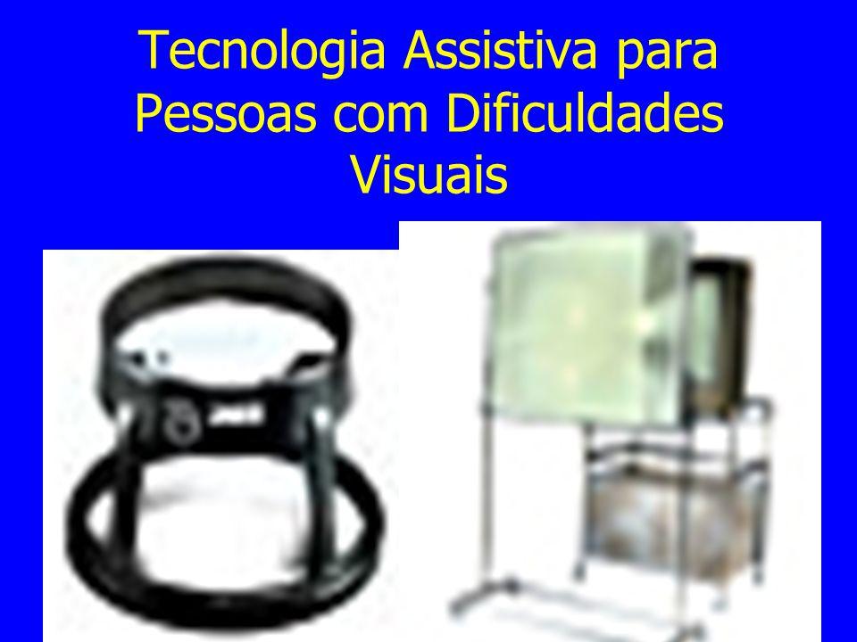 Tecnologia Assistiva para Pessoas com Dificuldades Visuais