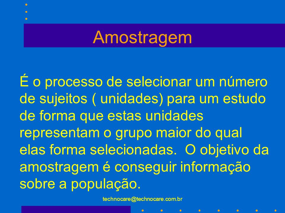 technocare@technocare.com.br Erro Padrão da Medida Refere a variabilidade associada com o escore de cada indivíduo no teste.