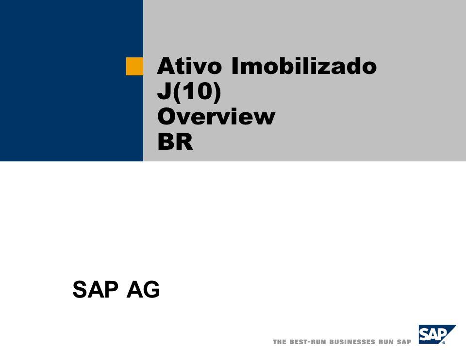 Ativo Imobilizado J(10) Overview BR SAP AG