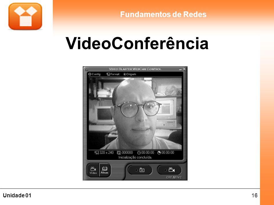 16Unidade 01 Fundamentos de Redes VideoConferência