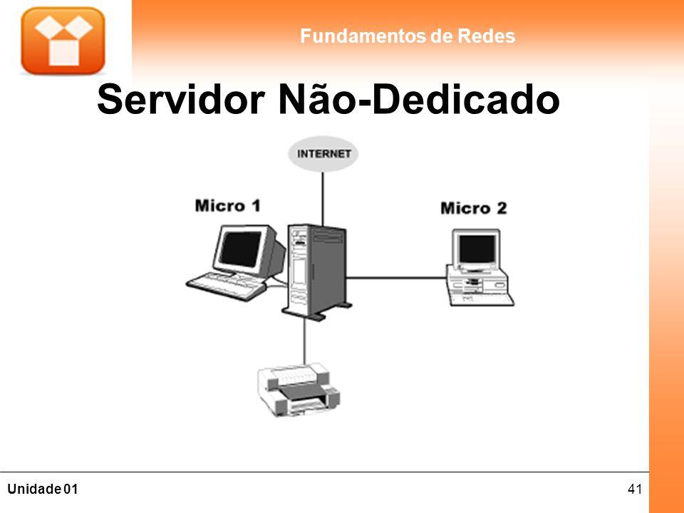 41Unidade 01 Fundamentos de Redes Servidor Não-Dedicado