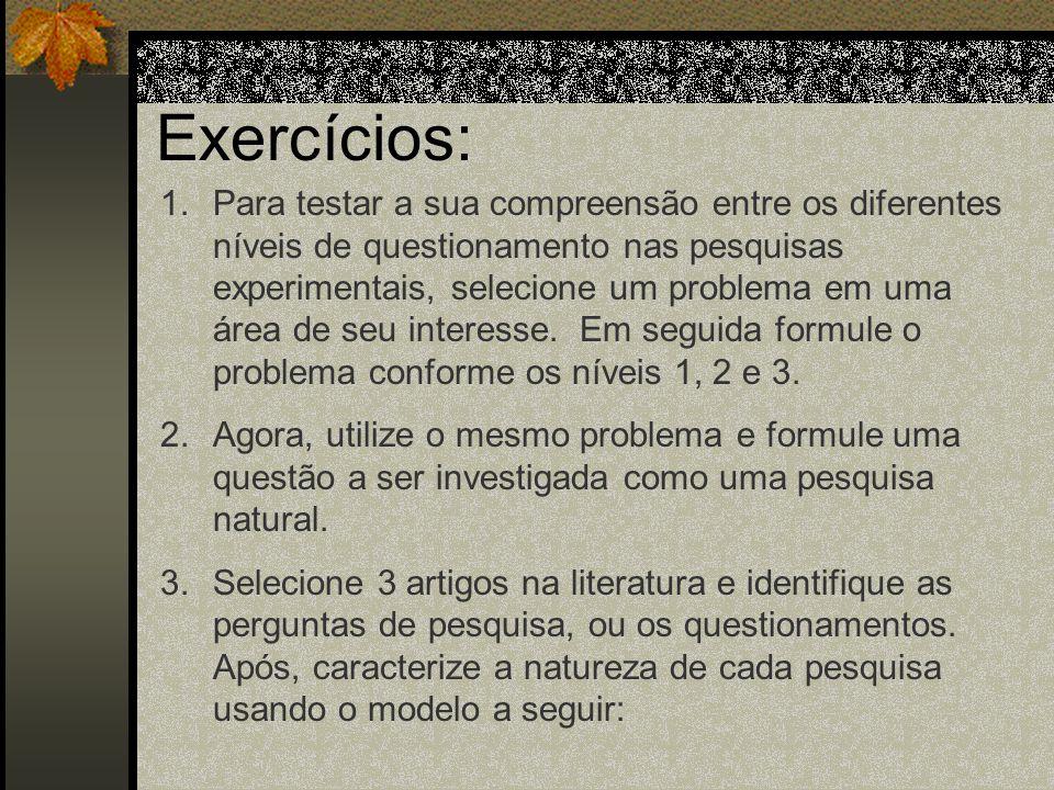 Perguntas nos Métodos Qualitativos 2. Fenomenológico Meta principal: Revelar o significado da vivência de um fenômeno pelo ser humano através da descr