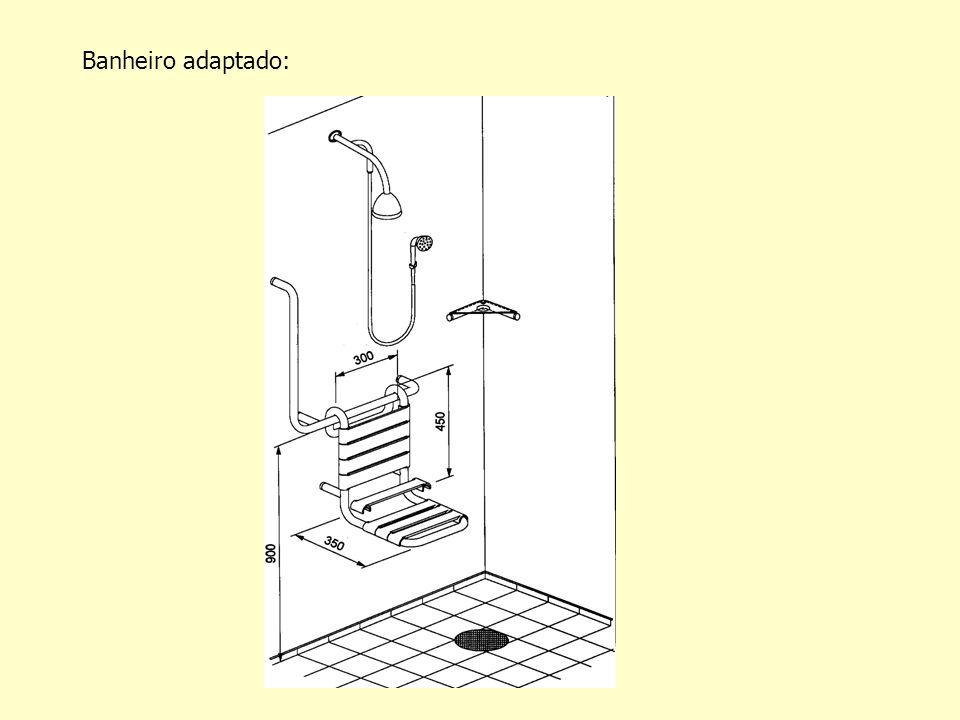 Banheiro adaptado:
