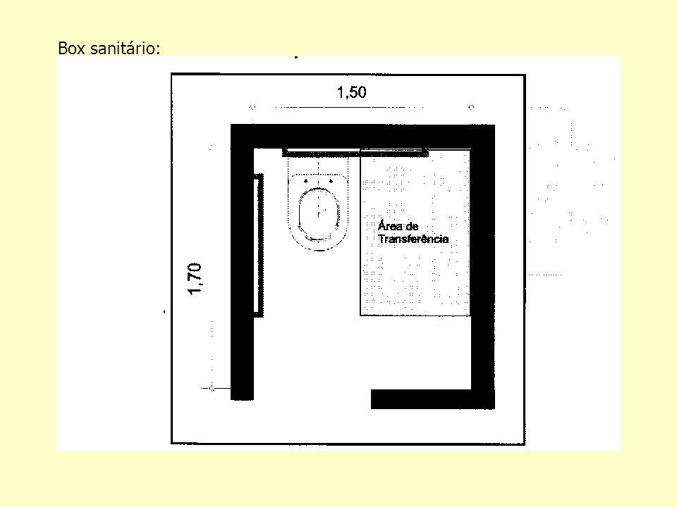 Box sanitário: