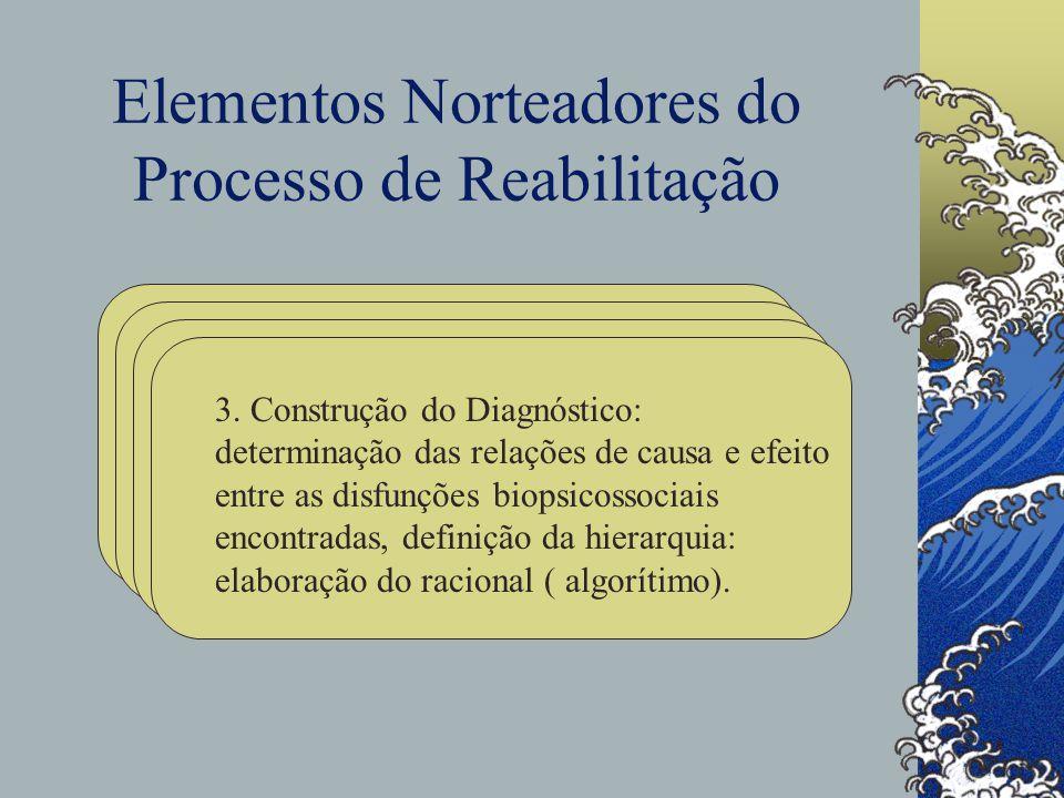 Elementos Norteadores do Processo de Reabilitação 3.