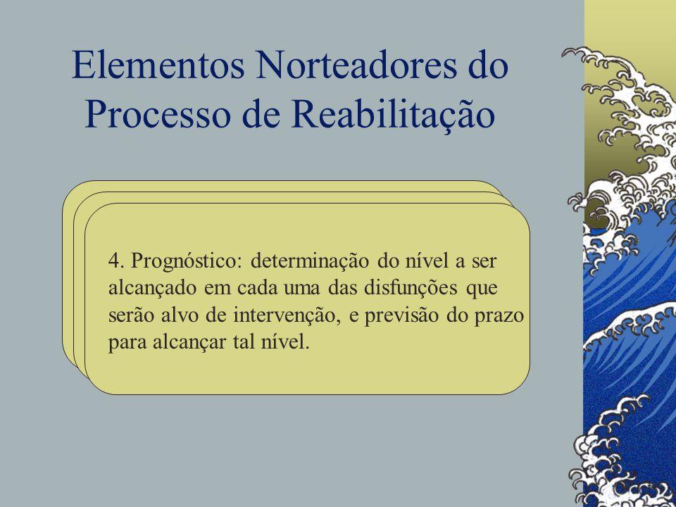 Elementos Norteadores do Processo de Reabilitação 4.